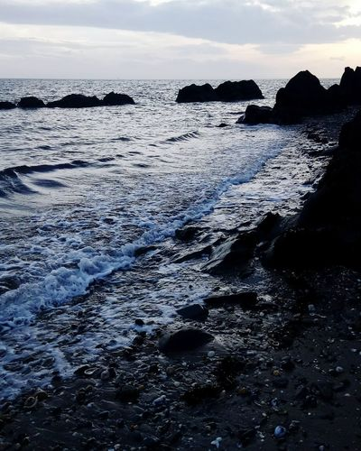 Water Ireland🍀 Beach Outdoors Travel Photography Beauty In Nature Landscape Sky Horizon Over Water Sea Beauty In Nature Day No People Irish Sunset Nature