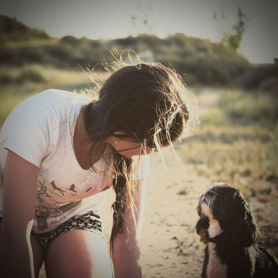 A Girl And Her Dog A Dog's Life Her Girl Puppy Love California Dreaming My Sunday EyeEm Nature Lover Canon Cali Livin'