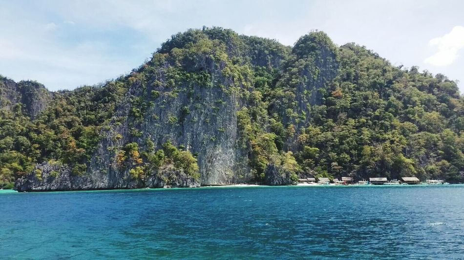 Tree Cloud - Sky Travel Destinations Tourism Water Beauty In Nature Outdoors Nature Sky Day ElNidoIslands Palawan Philippines