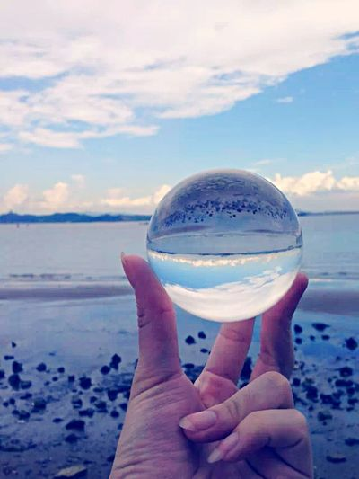 Hello World Foreverlove Sea And Sky Sea Side Crystal Ball Crystal Water My Unique Style Happyday