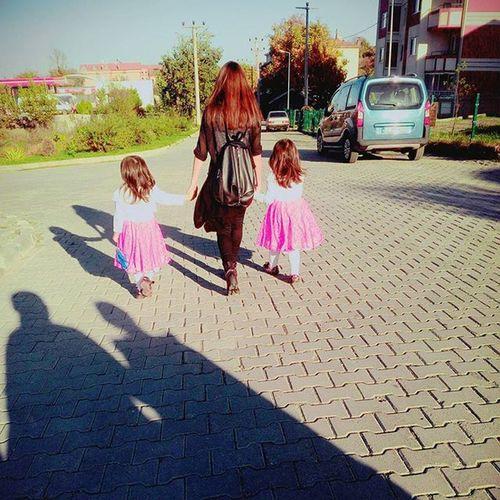 İkizleride aldim yanima☺☺☺