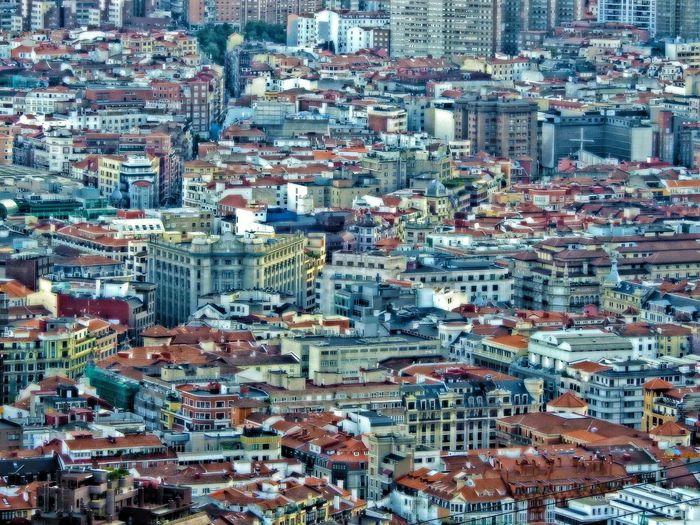 Bizkaia Euskalherria Bilbao Backgrounds Full Frame Pattern Abundance No People Built Structure Day #urbanana: The Urban Playground Summer In The City