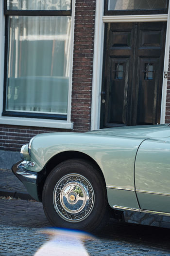 Beautiful classic citroen Classic Cars Architecture Building Exterior Built Structure Car City Day Glass - Material Land Vehicle Luxury Mode Of Transportation Motor Vehicle No People Outdoors Reflection Retro Styled Street Tire Transportation Travel Vintage Car Wheel Window