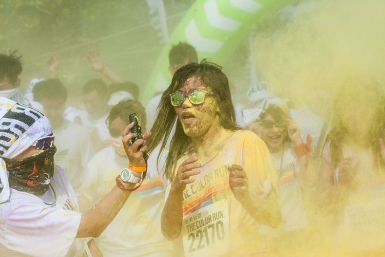 The color run, Taipei The Moment - 2014 EyeEm Awards