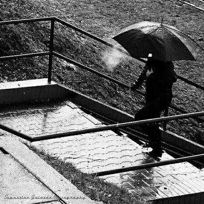 Umbrella Jastrzębie - Zdrój Street-photography Streerview Smoke