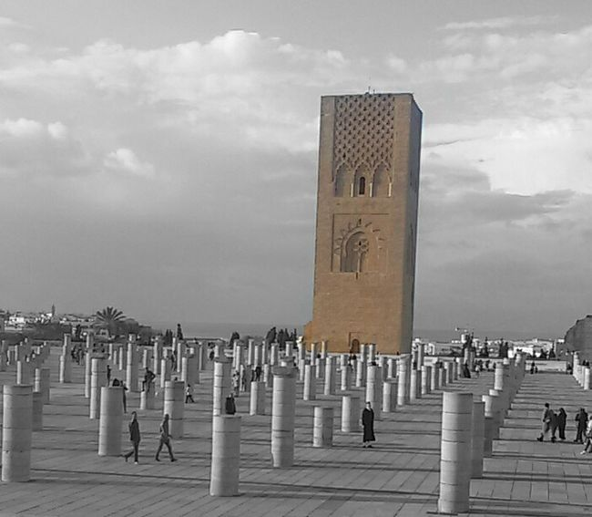Rabat Historical Monuments Hassan Tower ❤❤❤