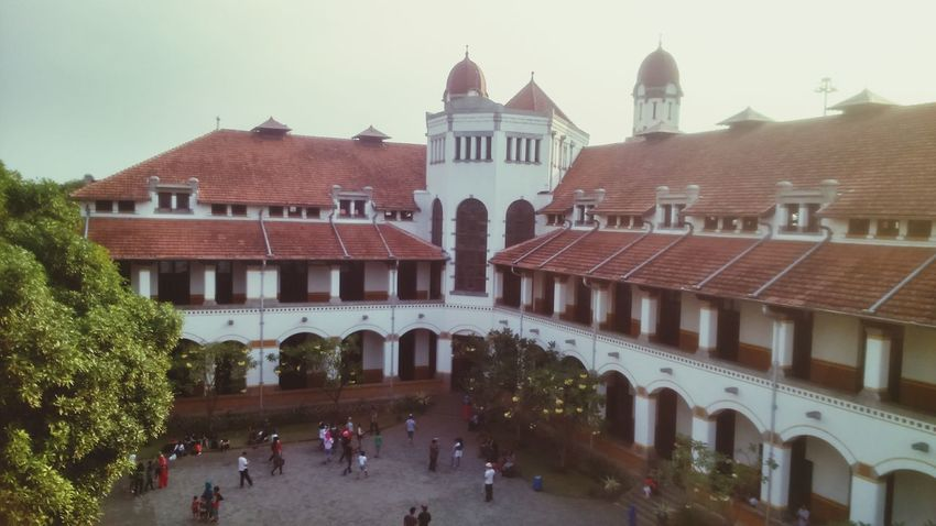 Cultural heritage Lawang Sewu Central Java,indonesia