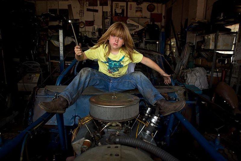 Bluecollar Greaser BoysBoysBoys Character Mechanic Shop