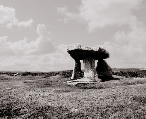 Blackandwhite Photography Cloud - Sky Lanscape Photography Lanyon Quoit No People Outdoors Scenics Standing Stones Stone Circle Tranquility