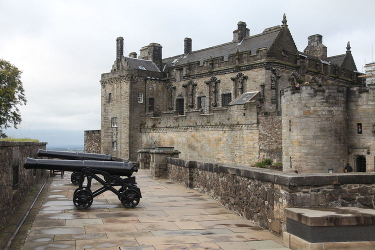 Stirling Castle Architecture Braveheart Canons Castle Robert The Bruce Scotland Stirling William Wallace