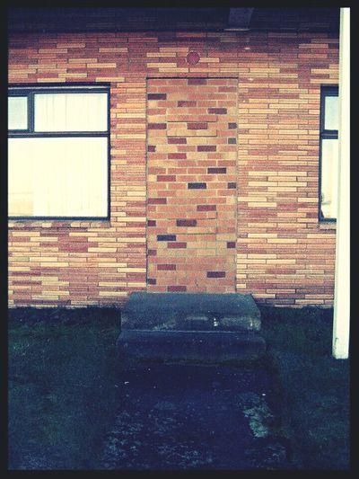 Anybody Home? Knockknock Urbanexploration Urban Geometry Urban Life Brick Wall Brickwork