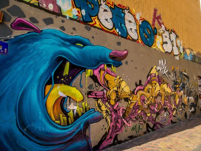 Graffiti Street Art Multi Colored Outdoors Streetphotography Marseille Lovemycity Art De Rue