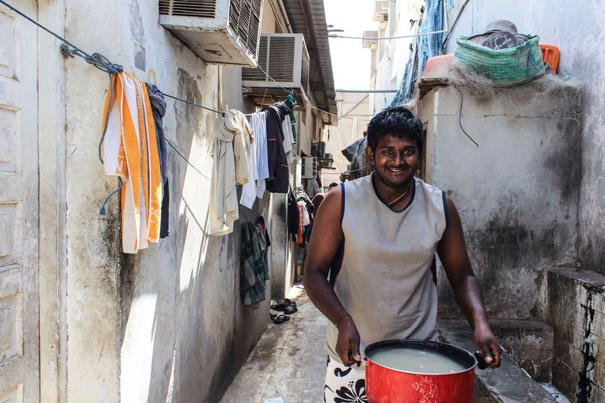 Single men accommodation/housing of migrant workers who are living on the margins of society. Your Photo For Social Change By PhotoPhilanthropy