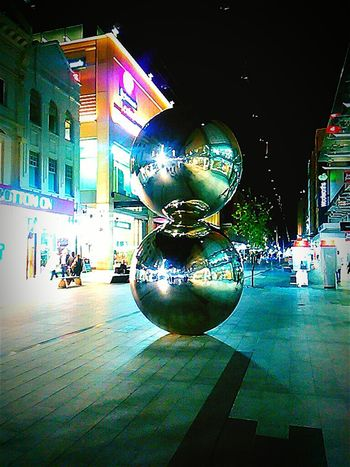 Mall'sBalls TheMall'sBalls Silver Balls Light Sculptures Chrome Silverballs Malls Balls Rundlemall Adelaide, South Australia Adelaide S.A. Nightphotography Street Photography Streetphotography Night Photography ChromeBalls Chrome Balls Night Adelaide South Australia Adelaide Mall's Balls Rundle Mall Taking Photos Sculpture Mallsballs South Australia Silver Balls Rundlemall Check This Out