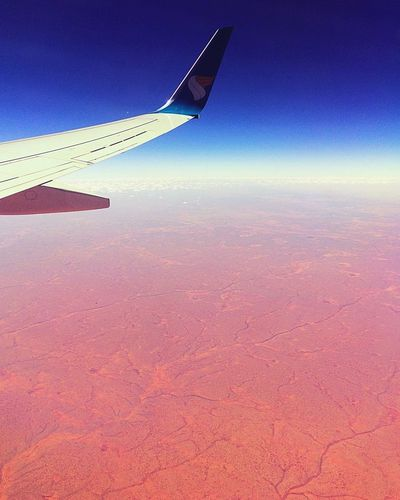 Walking on the...Mars! Hello World Journey Travel Traveling Enjoying Life Flying Fly Earth Aviation Boeing Skyporn Sky Mars View From Above View Desert Somalia Taking Photos Wings Airplane Aircraft Life Holiday Holidays