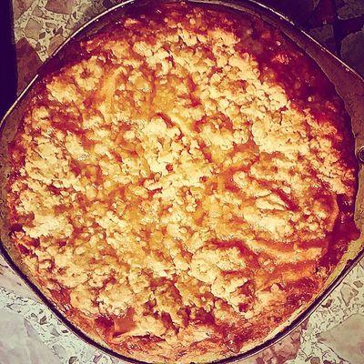 Dutchapplepie Madefromscratch ByYoursTruly Foodporn cinnamon apples dessert ilovetobake ilovefood