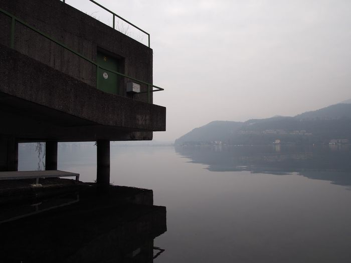 Architecture Built Structure Day Lake Nature No People Outdoors Reflection Sky Tranquility Water