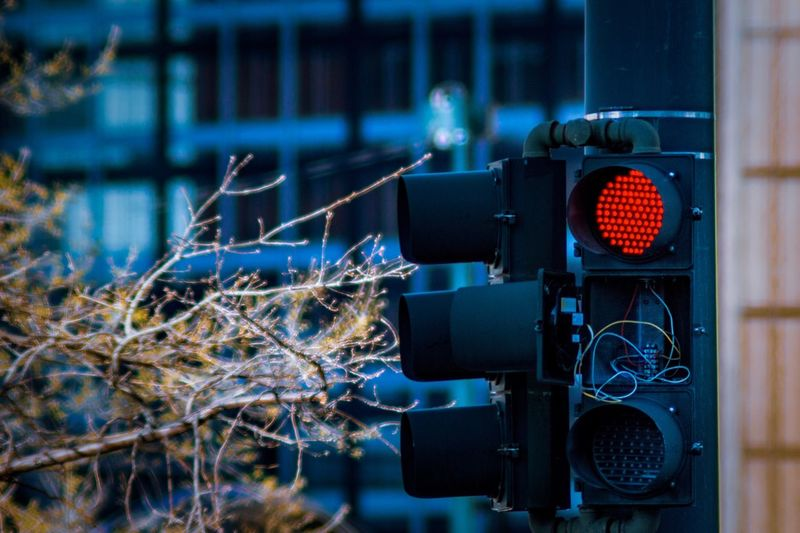 Red Light, Broken Light Broken Light Blurry Background Traffic Light  Traffic Signals Technology No People Focus On Foreground Close-up Stoplight Communication Sign Lighting Equipment Red Light Control Selective Focus Architecture Capture Tomorrow