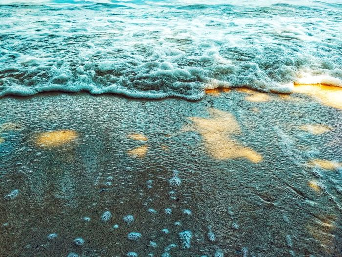 Textured  Pattern Freshness Texture Sunlight Day Minimalism Water Backgrounds Full Frame High Angle View Close-up Shore Sandy Beach Wave Ocean Calm Pebble Beach Horizon Over Water Transparent Beach Sand Coastline Lakeside