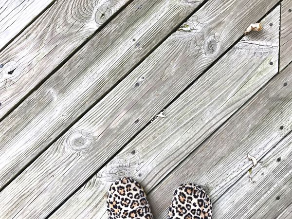 Wood - Material Low Section Backgrounds Hardwood Deck Patio Leopard Leopard Print Pattern