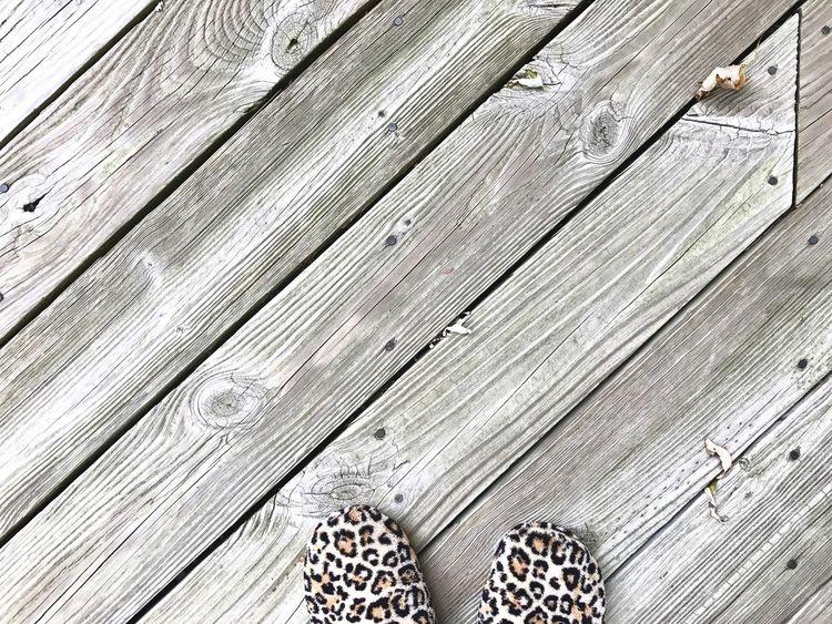 Wood - Material Low Section Backgrounds Hardwood Deck Patio Leopard Leopard Print Pattern