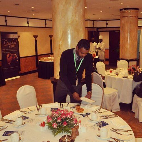 @hashimbashe Amny Nairobi Eventorganizer Serena Breakfast restaurant spoons