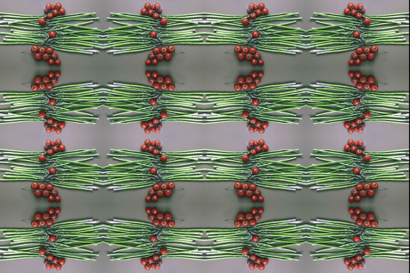 Full Frame Pattern Indoors  Backgrounds No People Large Group Of Objects Green Color Close-up Abundance Still Life Food And Drink In A Row Food Arrangement Repetition Red Side By Side Illuminated Healthy Eating Plastic