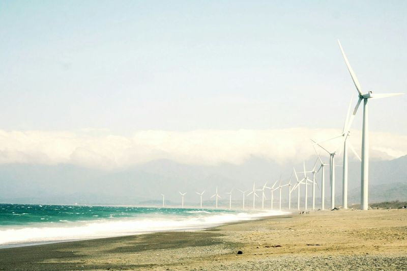 Bangui Windmills, Ilocos Norte, Philippines. Travel Traveling Sea Beach On The Road Nature Landscape Starting A Trip Adventure EyeEm Nature Lover Market Bestsellers May 2016 Bestsellers