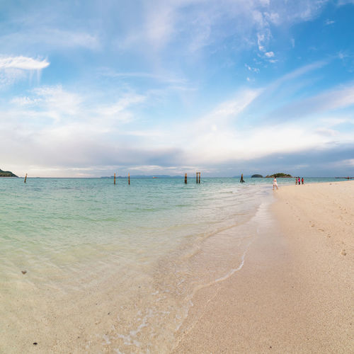 Koh Lipe Sea Beach Water Land Sky Sand Cloud - Sky Scenics - Nature Beauty In Nature Tranquility Horizon Over Water Horizon Tranquil Scene Nature Day Outdoors Turquoise Colored Thailand Thailand_allshots Travel Destinations Andaman Sea Koh Lipe Lipe Lipe Island Sea And Sky