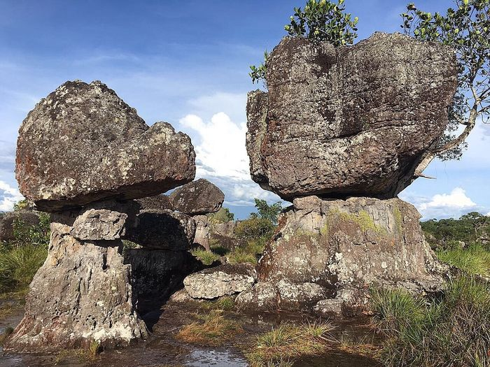 Ciudadepiedra Cieloblu Colombia Es Bella Rock - Object Nature Geology Outdoors Sky No People Beauty In Nature Day Water