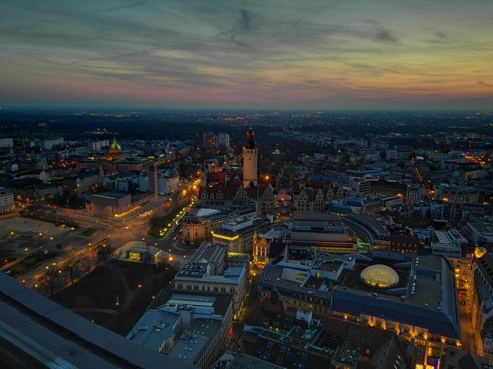 Nice View Citylights Nightphotography Night Lights Lieblingsstadt Oben
