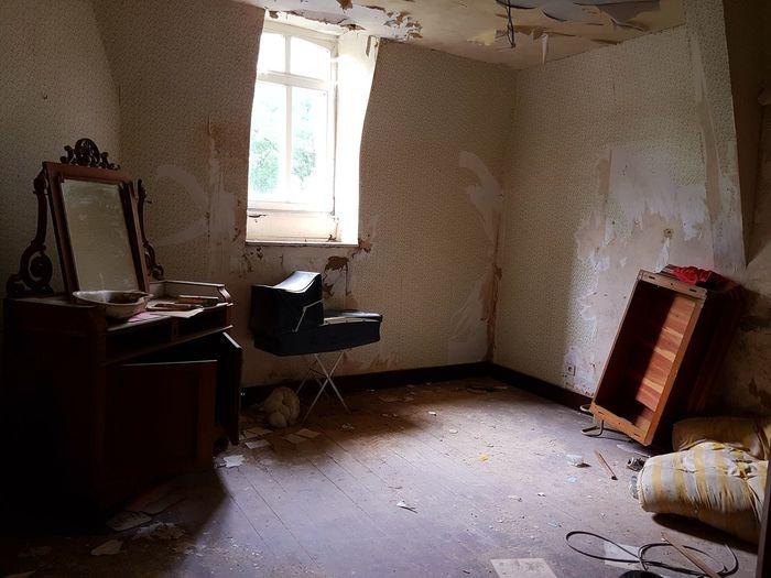 Abandoned Urbex Indoors  Window No People Von Duchess Manoir Von Duchess
