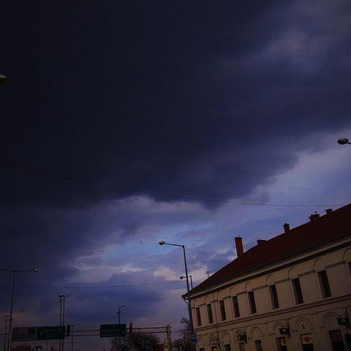 Cloud Storm Rain Today City Miskolc Borsod Phone Photography VSCO Phone_o_grapher