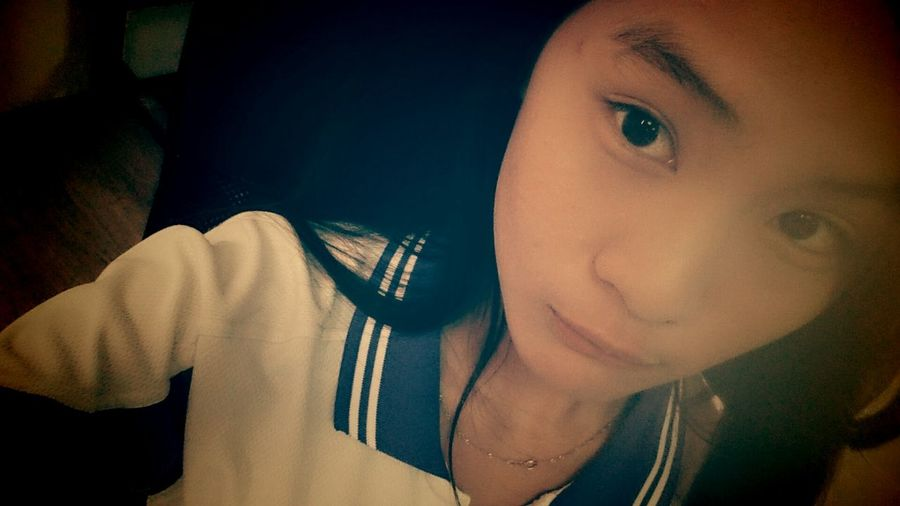 Oh,hi (^_−)☆ Face Myself Smile :) 運動服