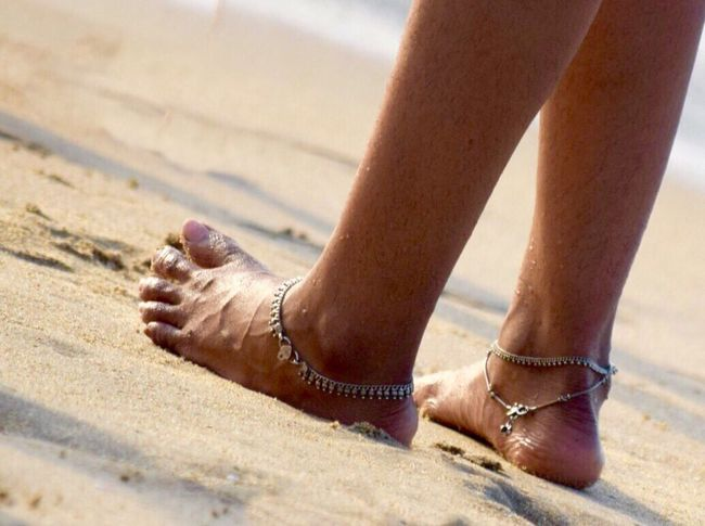 Angel with Anklets Angel Beautiful Anklet Girl Photo Photoshoot
