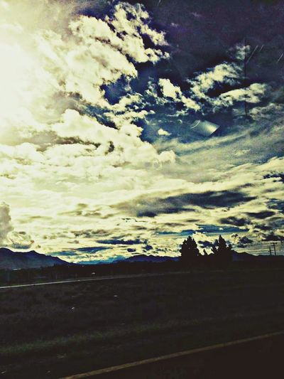 Roadtrip HDR Open Edit Skyporn Clouds And Sky Beautiful Mexico Blue Sky Hdr_Collection WOW