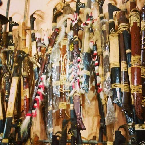 Choose your Weapon Mandau Samarinda
