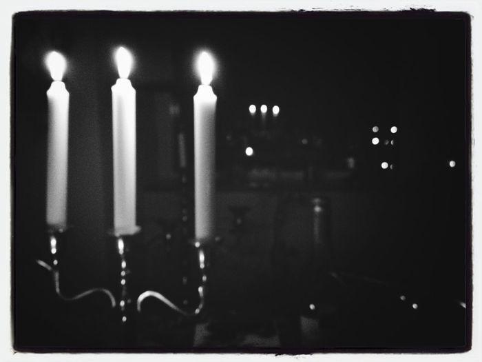 Blackandwhite Candles Recursion