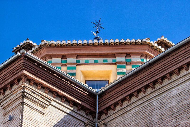 Architecture Building Exterior Built Structure Sky Low Angle View Blue Building Clear Sky Day No People Roof The Past Nature History Art And Craft Outdoors Travel Destinations Craft Belief House Roof Tile Ornate