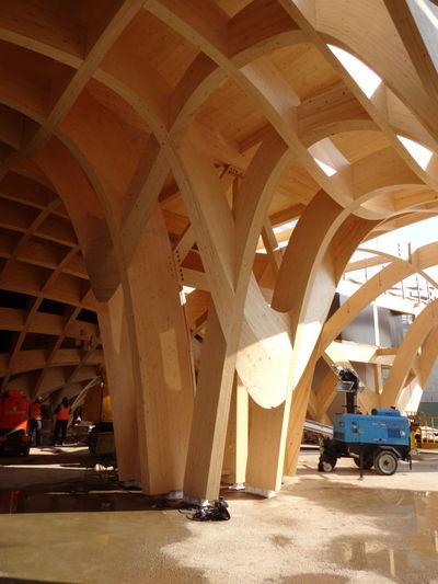 -71 giorni Architecture Expo 2015 Wood Working OpenEdit Padiglione Francia