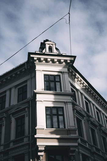 Oslo Architecture Building Exterior Built Structure Cloud - Sky Day Low Angle View No People Outdoors Sky