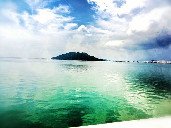 Jerejak rainforest islands in penang Cloud - Sky Water Beauty In Nature Nature Tropical Climate Sea