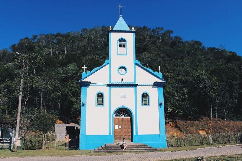 Church 1912 CanonSL1 VSCO Happiness City Life Sky Built Structure Architecture Nature Spirituality Church Brazil RJ Brazil Maua