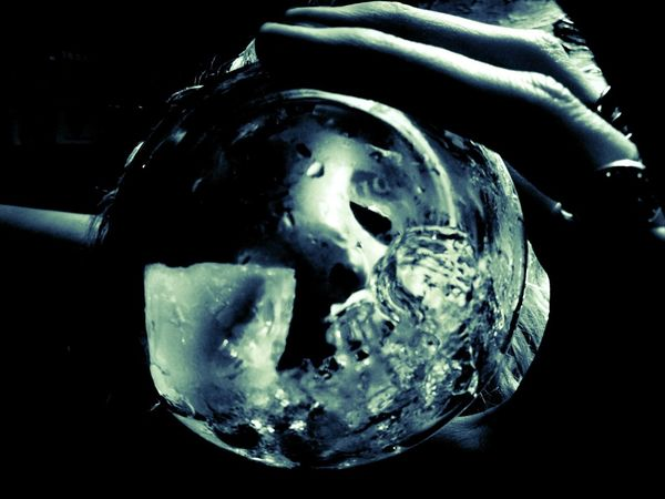 Black Background Water Girl Black And White Drink Ice Cube Glass Reflection