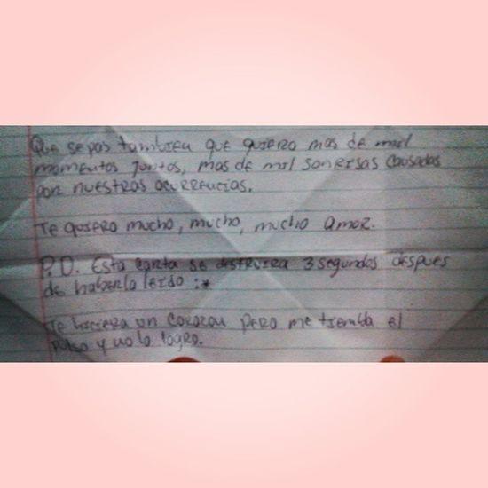He leído miles de veces y no se destruye 😣😢😂😂😂😂 jajajaja Elmejorregalo Ilovehim ILoveThisLetter 💞💑