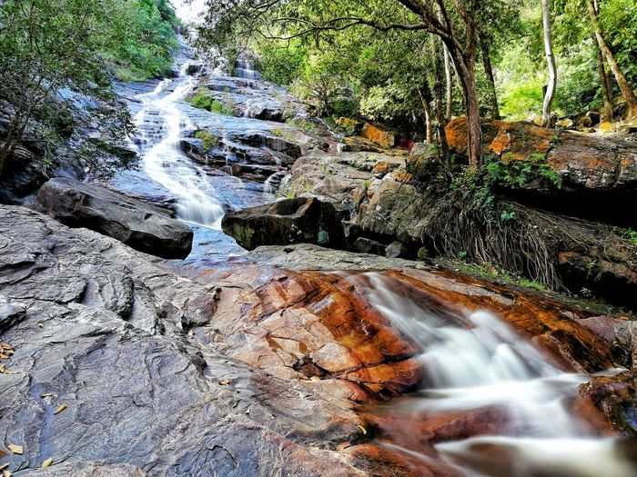 Quiet and peaceful Water Motion High Angle View Waterfall Rock The Great Outdoors - 2018 EyeEm Awards EyeEmNewHere