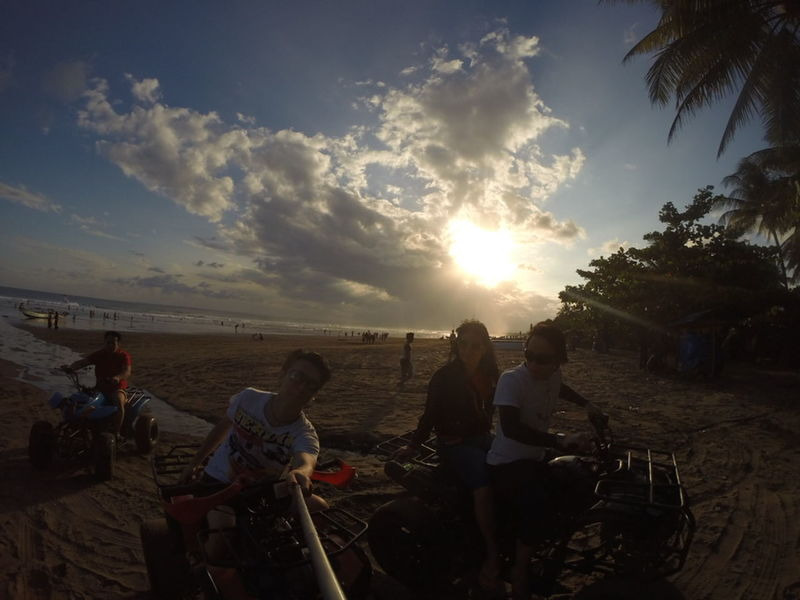 The Moment - 2015 EyeEm Awards Pangandaran Beach INDONESIA Sunset Family Trip GoPro Hero3+ Relaxing Nature No Filter ATV Ride
