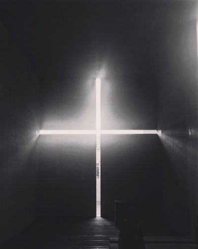 Indoors  Illuminated No People Day Architecture 光の教会 安藤忠雄 Tadao Ando Church Of The Light ARCHITECT Light And Shadow Tokyo Cross A Church