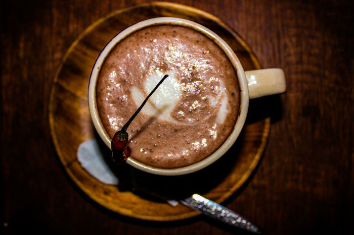 Drink Table Hot Chocolate Hot Chili Peppers Tablea Cacao