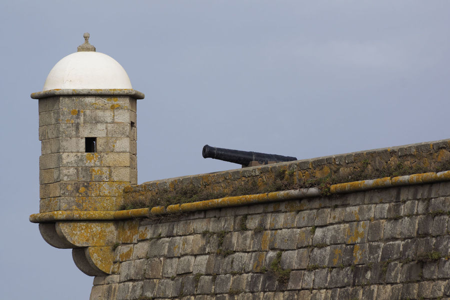 Architecture Battlement Cannon Dome Fort Historical Cannon History No People Outpost Porto Portugal Tower Travel Destinations Neighborhood Map